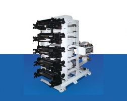 Packaging Machines 5 Renk Flexo Baskı Makinası